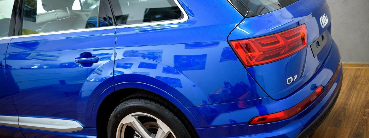 Folia ochronna lakier samochodowy Auto Klinika Kraków