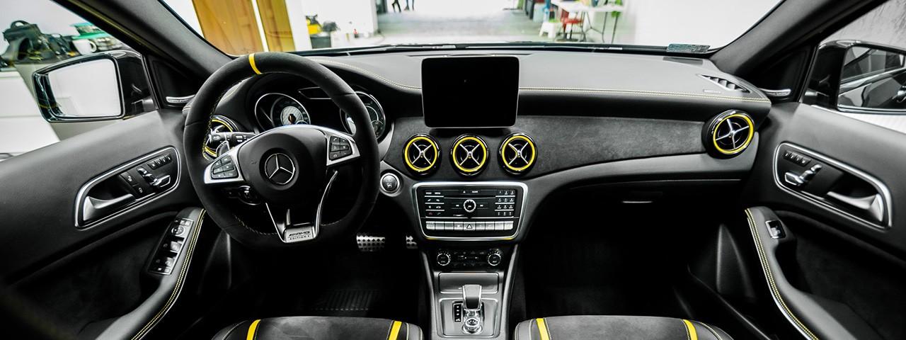 Mercedes car detailing Kraków