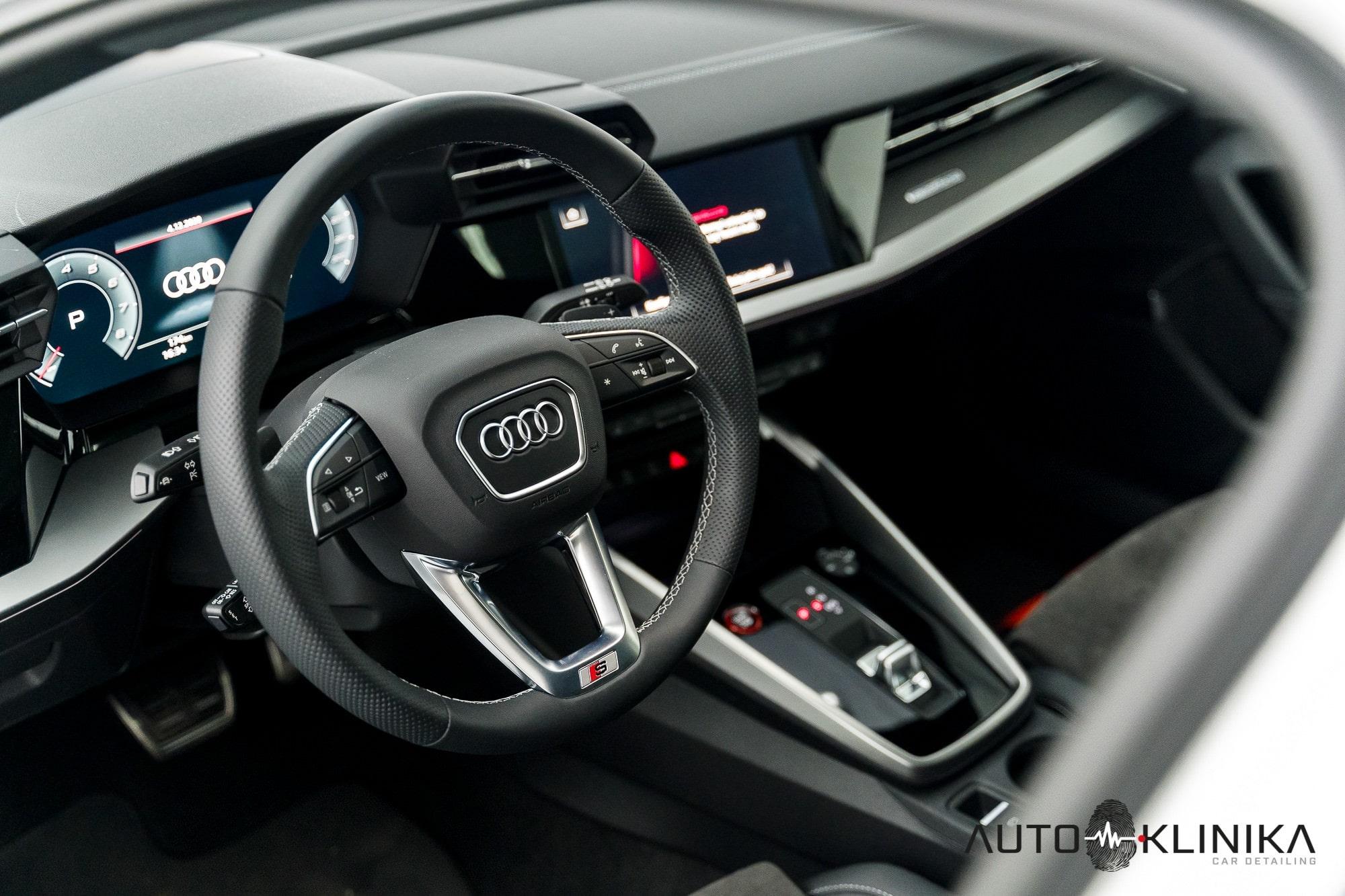 Audi S3, wnętrze, kokpit